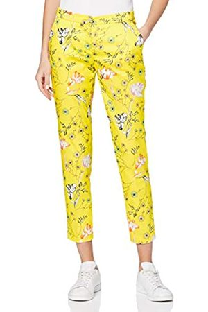 BRAX Women's Style Maron Flowerprint Pull On Trouser