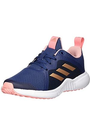 adidas Unisex Kids' Fortarun X Road Running Shoe, Tech Indigo/Copper Metallic/Glory