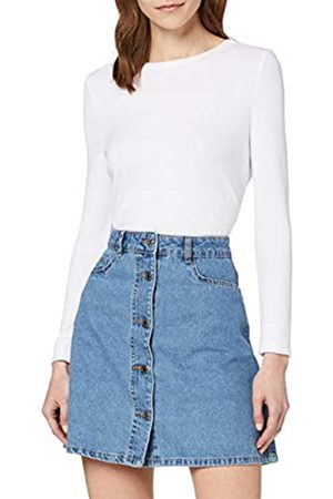 Name it Women's Nmsunny Shortdnm Skater Skirt Gu123 Noos