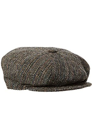 Bailey Of Hollywood Galvin Stripe Herringbone Flat Cap