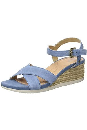 Geox Women's D Ischia Corda C Open Toe Sandals, (Lt C4003)