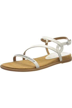 unisa Women's Claris_li Ankle Strap Sandals, Off- (Ivory Ivory)