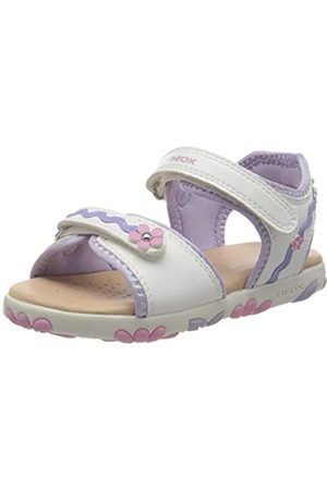 Geox Girls' J Sandal Haiti D Open Toe, ( /Lilac C0761)