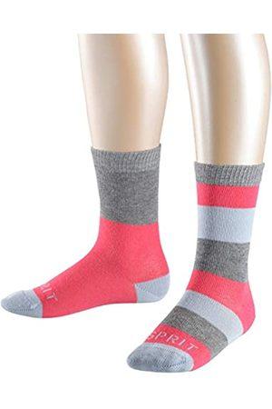 ESPRIT Girls Block Stripe Calf Socks