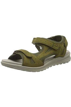 Legero Women's Siris Ankle Strap Sandals, (Canapa (Grün) 71)