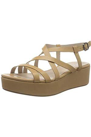 Ecco PLATEAUSANDAL, Platform Sandals Women's, (LATTE 1343)