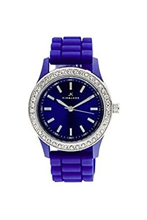Kim & Jade Unisex-Adult Analogue Classic Quartz Watch with Stainless Steel Strap 2032L-B
