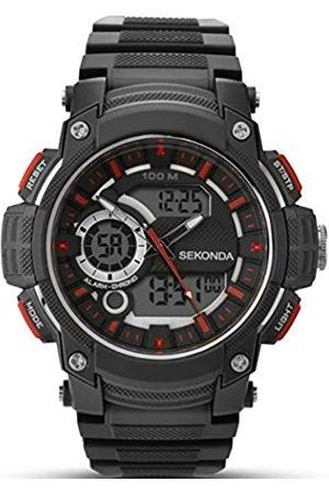 Sekonda Men's Digital Watch with Dial Digital Display and Plastic Strap 1161.05