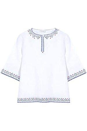 Gocco Girl's Camisas Bordada Blanca Blouse