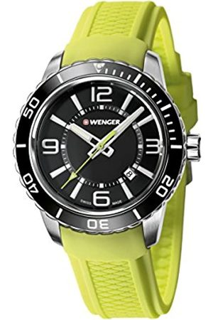 Wenger Men's Analogue Quartz Watch with Silicone Strap 01.0851.115