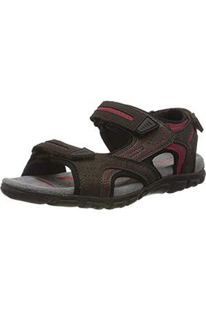 Geox Men's Uomo Sandal Strada D Open Toe, (Dk C6006)