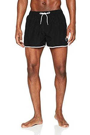 Calvin Klein Men's Short Runner Swim Trunks, ( 001)