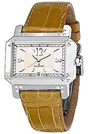 Candino Quartz Watch Analogue Display and Strap C4255/1_Plata