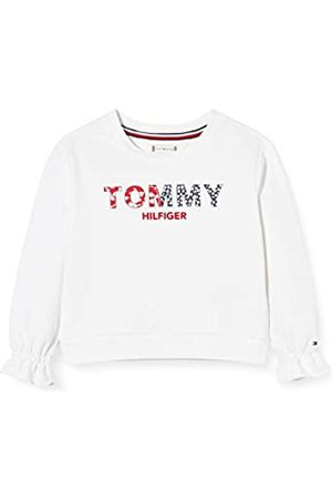 Tommy Hilfiger Girl's LG Ruffle Crew Sweatshirt