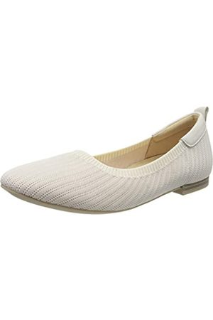 Caprice Women's KENDRAFLY Closed Toe Ballet Flats, ( Knit 147)