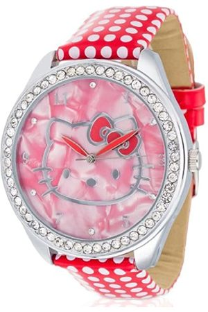 Hello Kitty Girls Watch Yae PU Leather Analog Quartz HK480S - 868