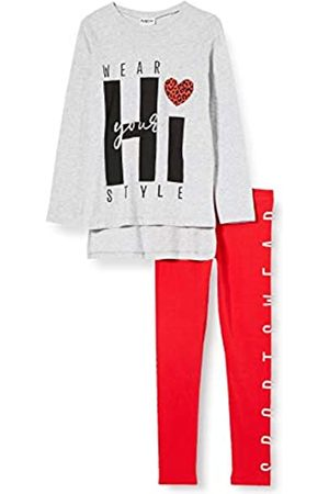 MEK Girl's Compl.t-Shirt M/l + Leggings T.u. Clothing Set