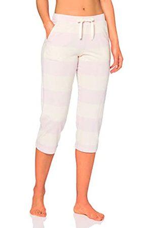 Schiesser Women's Mix & Relax Jerseyhose 3/4 Lang Pyjama Bottoms