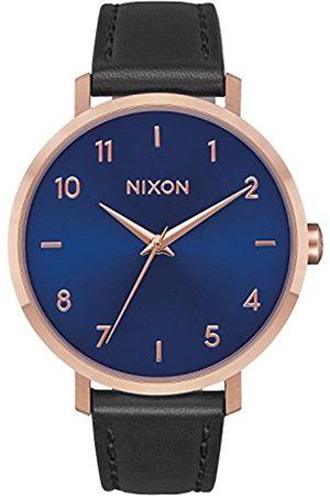 NIXON Unisex Analogue Quartz Watch with Leather Strap A1091-2763-00