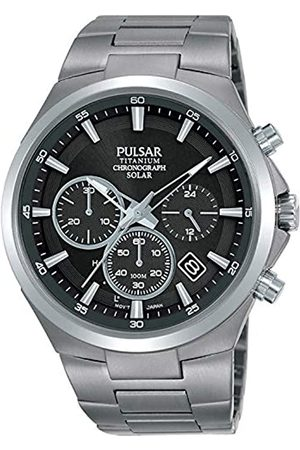 Pulsar Men's Analogue Quartz Watch with Stainless Steel Strap 8431242963594
