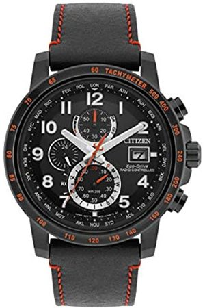 Citizen Men's Chronograph Quartz Watch with Leather Strap AT8125-05E