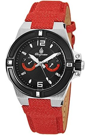 Burgmeister Men's Quartz Watch with Dial Analogue Display and Fabric and Canvas Bracelet BM220-924-1