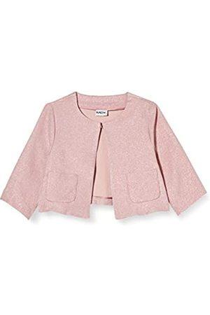 MEK Girl's Giacchina Effetto Lurex Coat