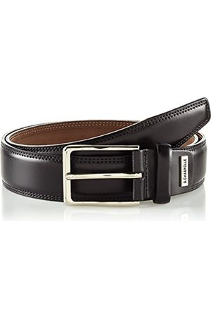 Lindenmann G.CHABROLLE Mens leather belt/Mens belt, business belt, leather belt curved, Größe/Size:115