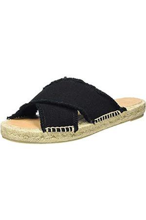 Castañer Women's Palmera/001 Flat Sandals