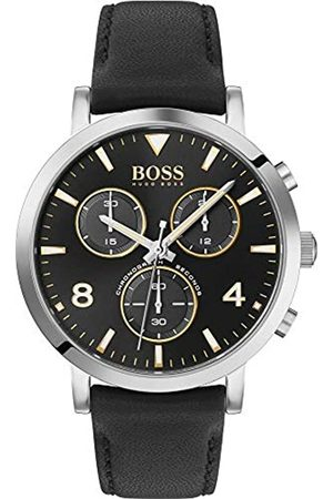 HUGO BOSS Men's Analogue Quartz Watch with Leather Strap 1513766