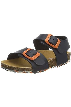 Garvalin Boys' 202475 Open Toe Sandals, (Azul Marino (Mat) Paprika)