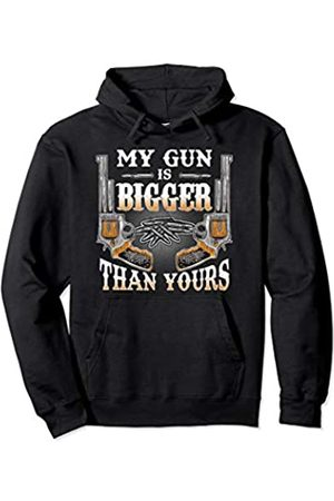 Tee Styley My Gun Is Bigger Than Yours 2nd Amendment Rights Men Women Pullover Hoodie
