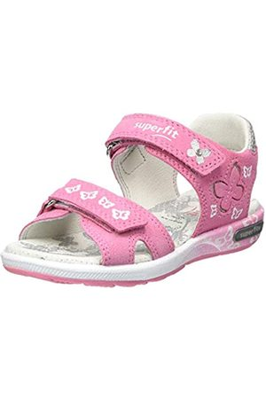 Superfit Girls' Emily Ankle Strap Sandals, (Rosa 55)