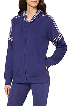 Emporio Armani Women's Visibility-Iconic Terry Full Zip Jacket & Hood Hoodie