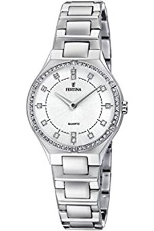 Festina Womens Analogue Classic Quartz Watch with Stainless Steel Strap F20225/1