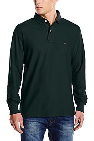 Tommy Hilfiger Men's 50/2 Performance Polo L/S RF Shirt