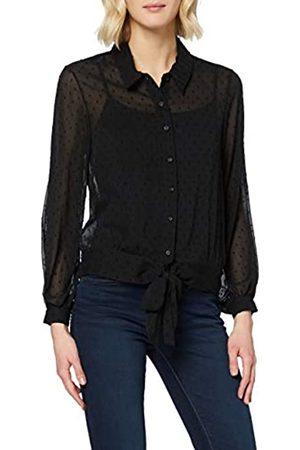 New Look Women's Dobby Spot Tie Hem Ls Shirt