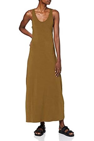 Urban classics Women's Kleid Ladies Long Racer Back Dress