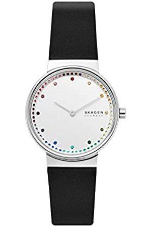Skagen Quartz Watch with Leather Strap SKW2836
