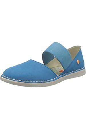 softinos Women's Teja576sof Espadrille Wedge Sandal, (Azure 000)