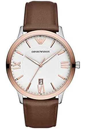 Emporio Armani Quartz Watch with Leather Strap AR11211