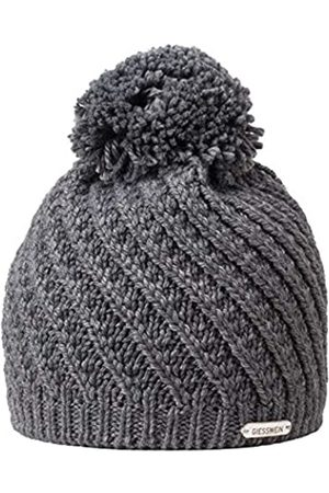 GIESSWEIN Knitted Beanie Zellerwand ONE - Warm Winter Beanie with fine Merino Wool, Soft Fleece Lining, Cap with Bobble for Men and Women