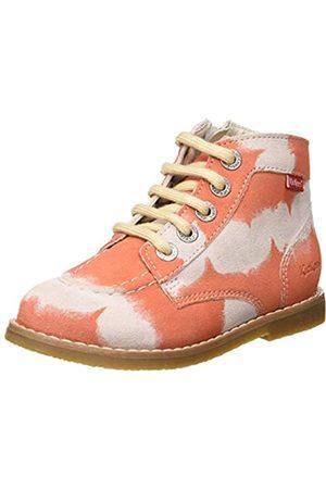 Kickers Unisex Kids' Kouklegend Slouch Boots, (Rose Tie and Dye 132)