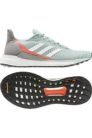 adidas Women's Solar Glide 19 W Running Shoe, Tint/FTWR /Signal Coral