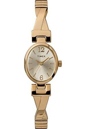Timex Women's Fashion Stretch Bangle 21 mm Expansion Band Watch TW2U12000
