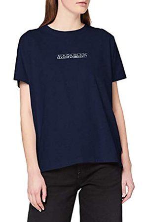 Napapijri Women's Sione T-Shirt, Medieval Bb61