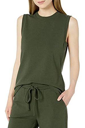 Daily Ritual Terry Cotton and Modal Tank Top Shirt