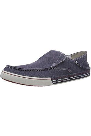 Clarks Men's Slaten Free Loafers, -Blau (Denim Canvas)