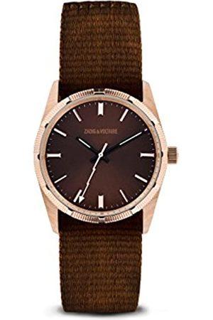 Zadig & Voltaire Unisex Analogue Quartz Watch with Nylon Strap ZVF209