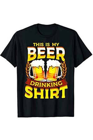 Tee Styley This Is My Beer Drinking Shirt Men Women Adults T-Shirt